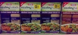 Kraft Sizzling Salads Review