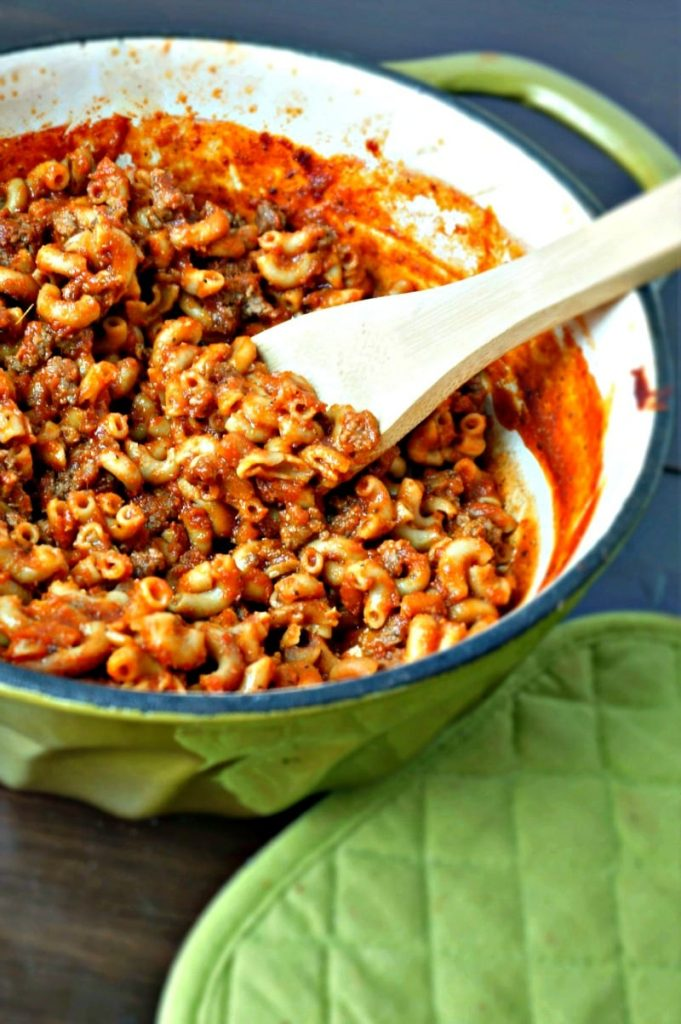 Skillet-Vegan-Hamburger-Helper8